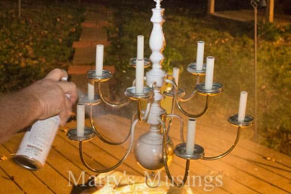 Mason Jar Chandelier by Marty's Musings-8