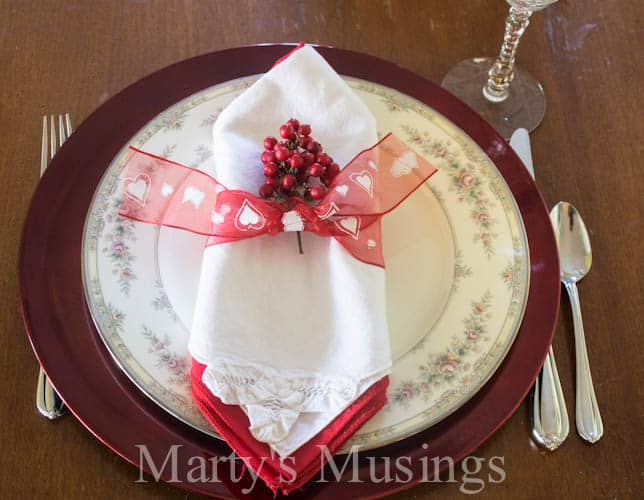 Valentine Tablescape from Marty's Musings-8