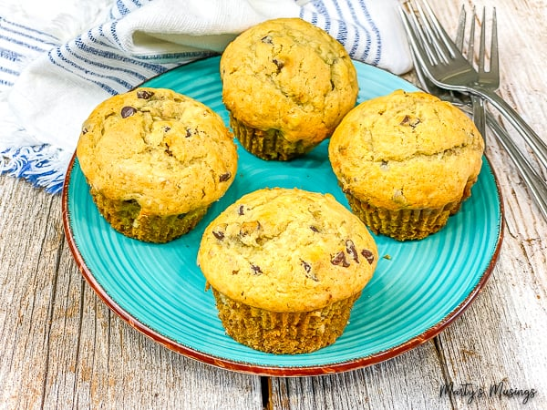 Chocolate Chip Banana Bread and Muffins