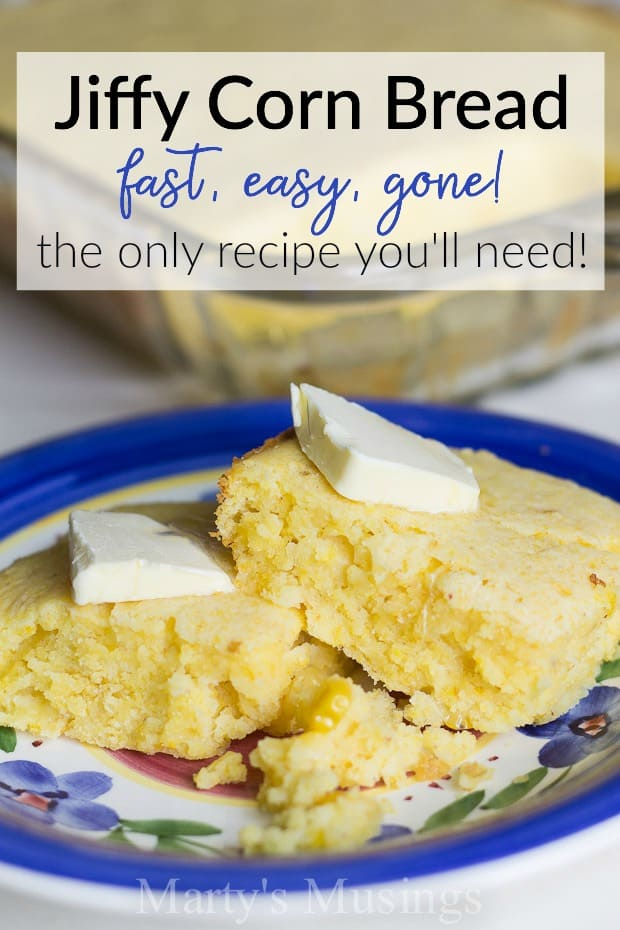 This Jiffy Corn Bread recipe really and truly is the best and easiest corn bread ever!! The selling point for this recipe? There are only six ingredients and one bowl needed.