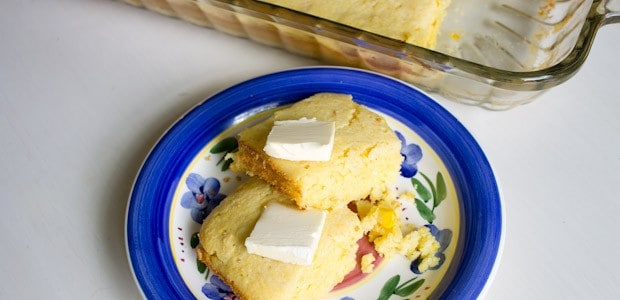 Jiffy Corn Bread with Creamed Corn - Marty's Musings