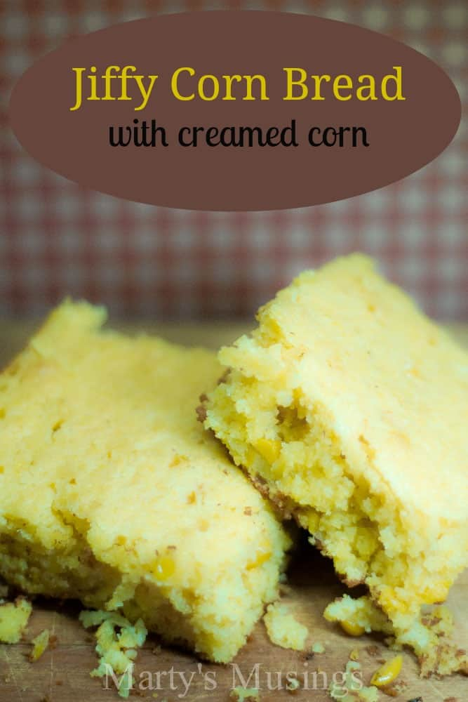 Jiffy Corn Bread with creamed corn