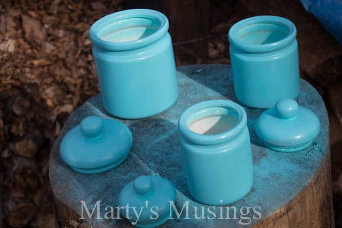 Kitchen Canisters from Marty's Musings