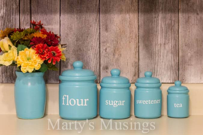 Wonderful Kitchen Canisters From Martyu0027s Musings
