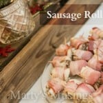 Sausage Roll Ups from Marty's Musings