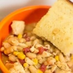 Slow Cooker Chicken Chili from Marty's Musings