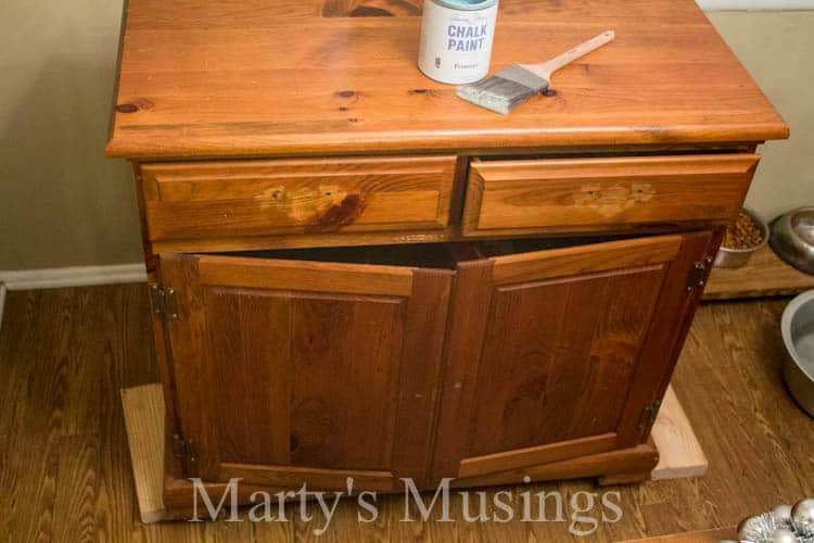 Small Kitchen Buffet from Marty's Musings