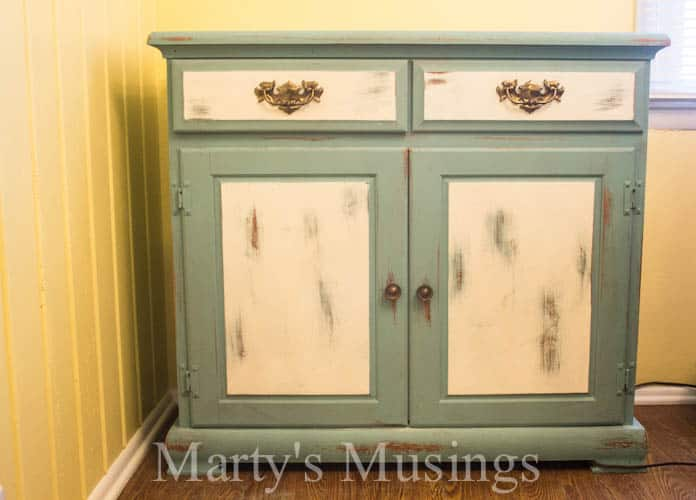 Chalk Painted Kitchen Buffet