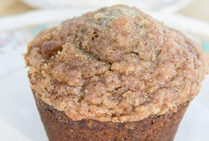Banana Crumb Muffin with Streusel Topping
