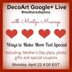 Mother's Day Google+ Hangout on Air Live!