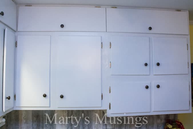 Painting  Kitchen Cabinets from Marty's Musings