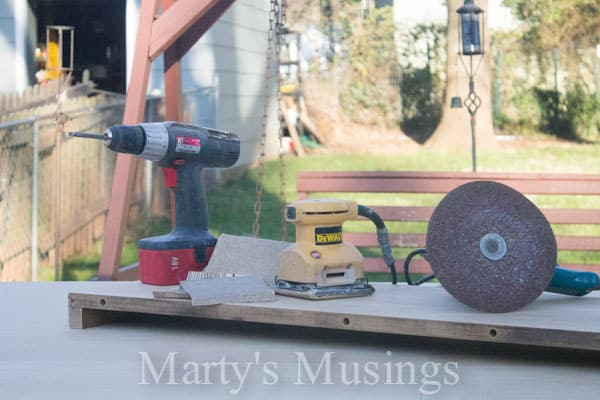 Kitchen Table Makeover from Marty's Musings