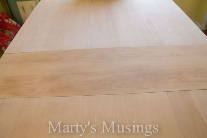 Painted Kitchen Table from Marty's Musings-2