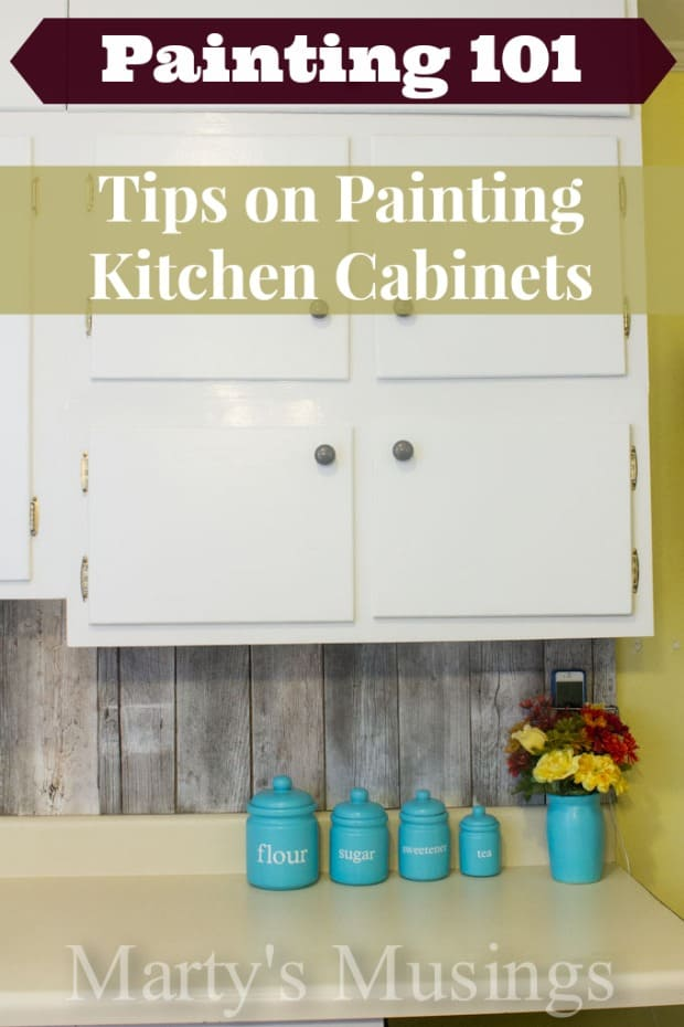 Painting 101: Tips on Painting Kitchen Cabinets