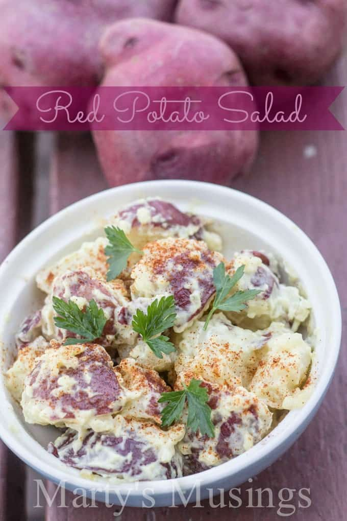 Red Potato Salad from Marty's Musings
