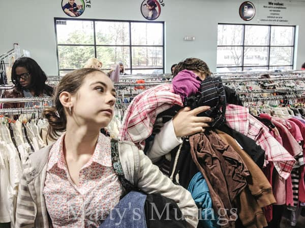 Thrift Store Fiasco from Marty's Musings