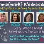 Home{work} Wednesday LInk Party from Marty's Musings