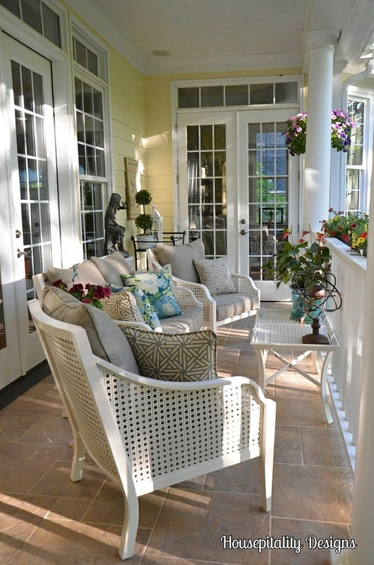 Porch Makeover from Housepitality Designs