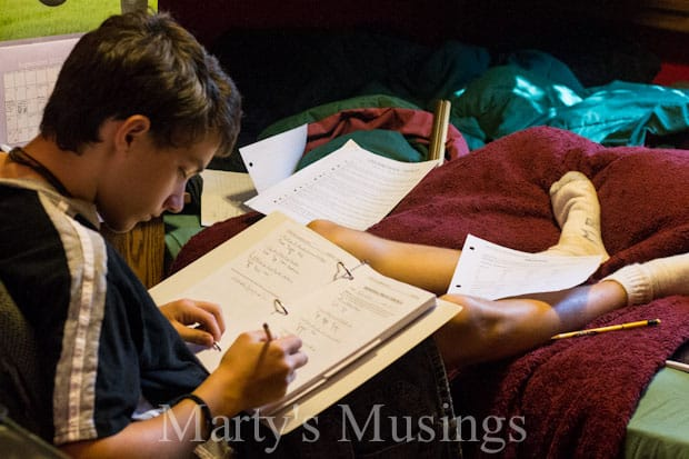 A Day in the Life of a Homeschooler by Marty's Musings