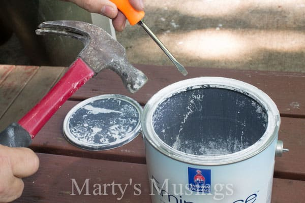 How to Avoid a Paint Can Mess