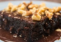Chocolate Texas Sheet Cake from Marty's Musings