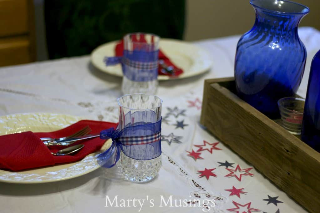 FourthofJulyTablescape from Marty's Musings