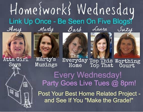 Home{work} Wednesday Button-1