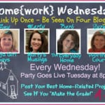 Home{work} Wednesday Button-1