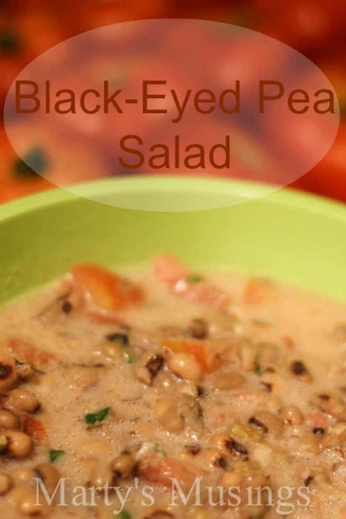 Black-Eyed Pea Salad from Marty's Musings