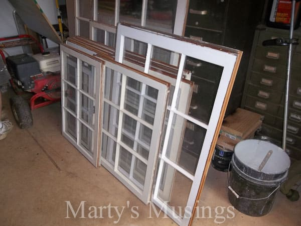 Old Window Photo Frame from Marty's Musings