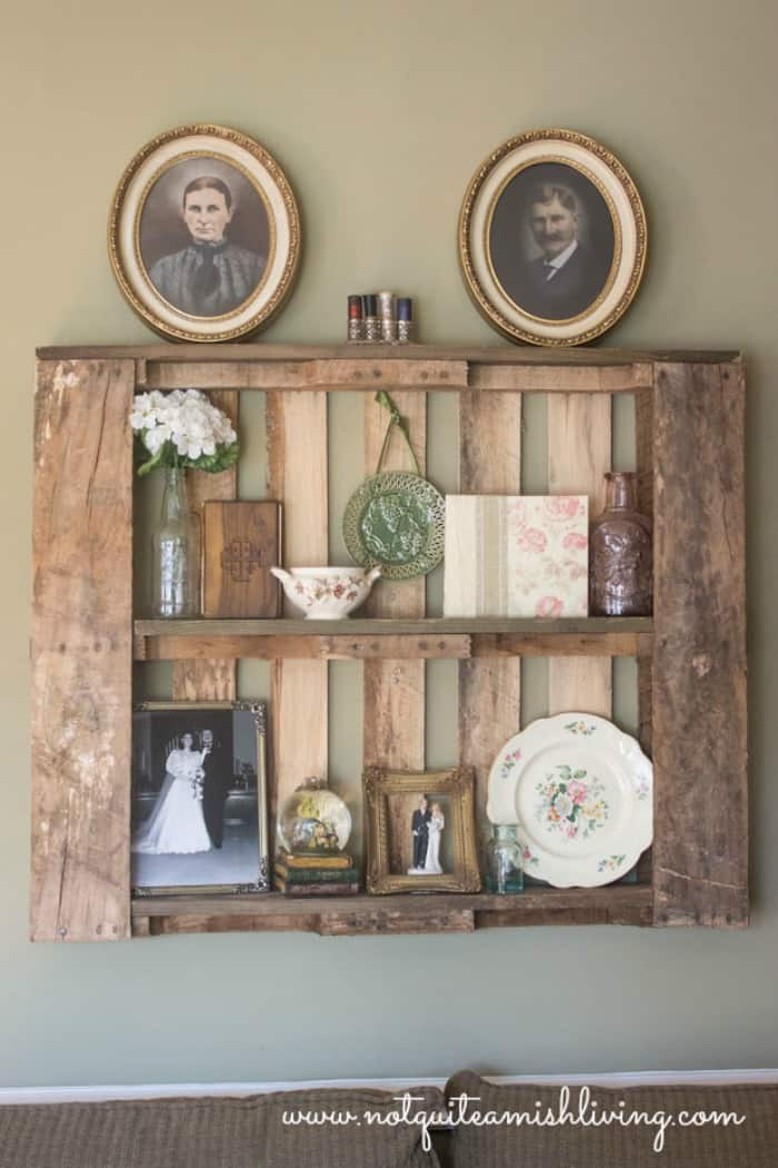 Pallet Shelves As Home Decor Not Quite Amish Home Decorators Catalog Best Ideas of Home Decor and Design [homedecoratorscatalog.us]