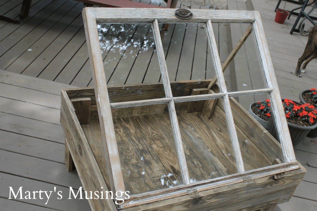DIY Window Table Tutorial from Marty's Musings