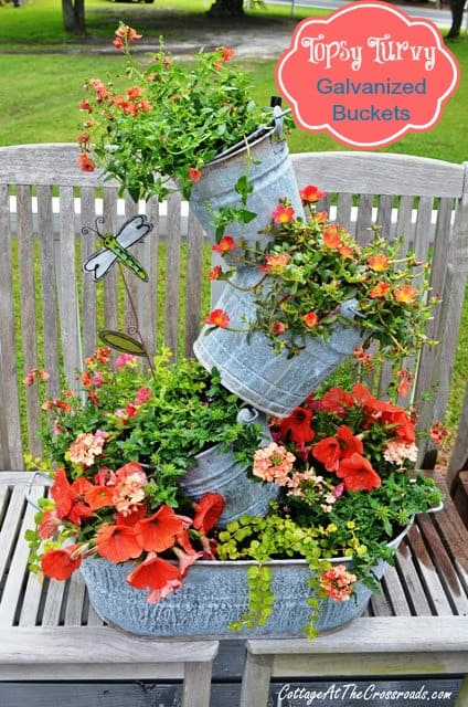 topsy-turvy-galvanized-buckets-from-Cottage-at-the-Crossroads