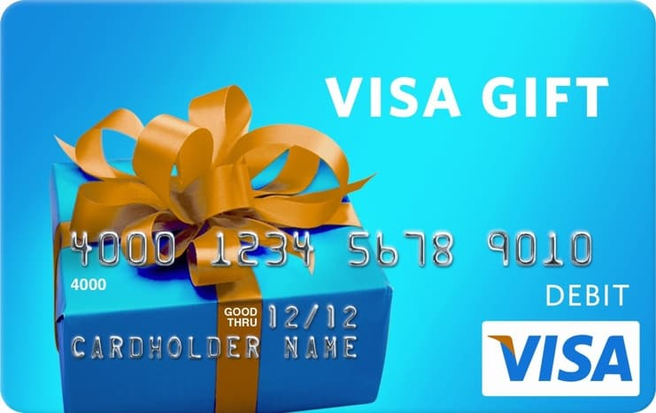 Visa Gift Card from Marty's Musings