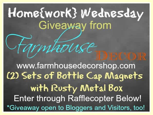 Home{work} Wednesday Giveaway