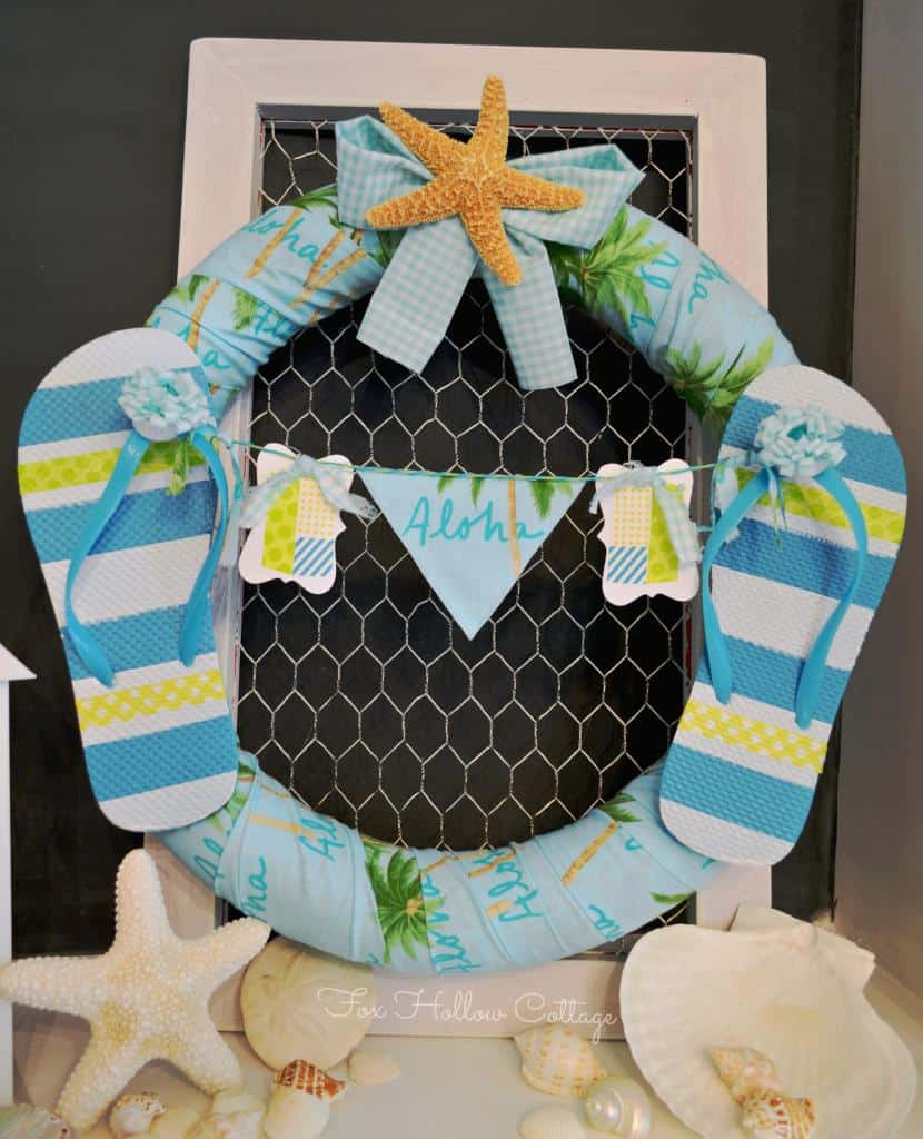 Aloha Summer Wreath