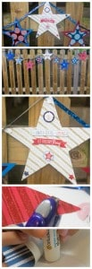 Easy Fourth of July Banner Tutorial - Marty's Musings