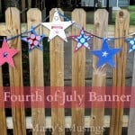 Fourth of July Banner from Marty's Musings