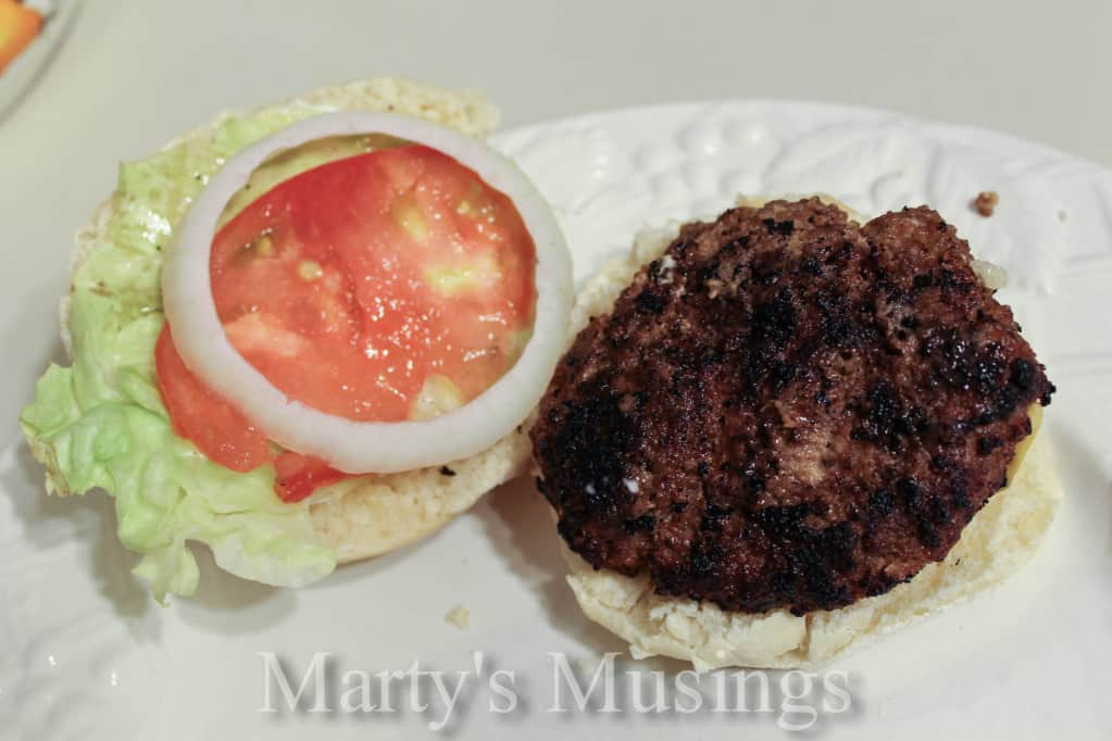 Homemade Hamburger Buns from Marty's Musings