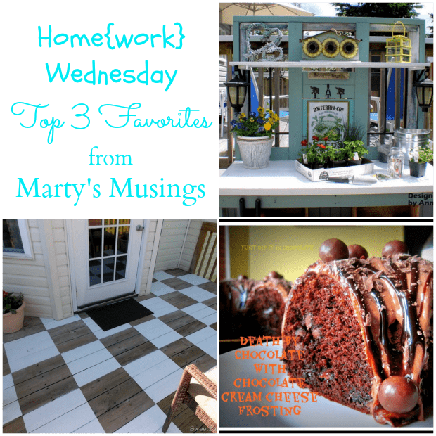 Home{work} Wednesday Favorites #3 from Marty's Musings