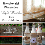 Home{work} Wednesday Link Party #6 Favorites