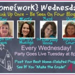 Home{work} Wednesday Link Party #5