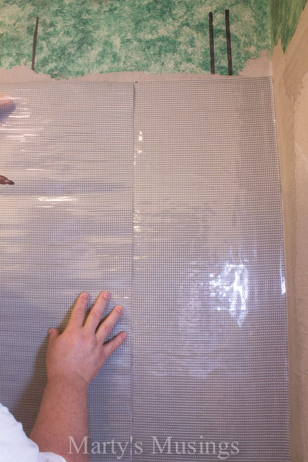 How to Tile Your Shower from Marty's Musings-16