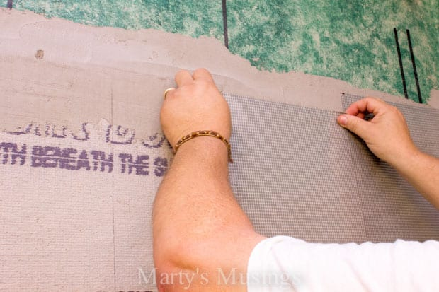 How to Tile Your Shower from Marty's Musings-17
