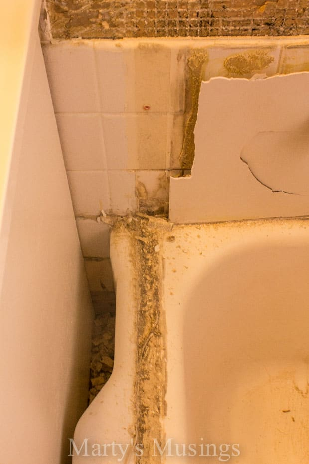 How to Tile Your Shower from Marty's Musings-7