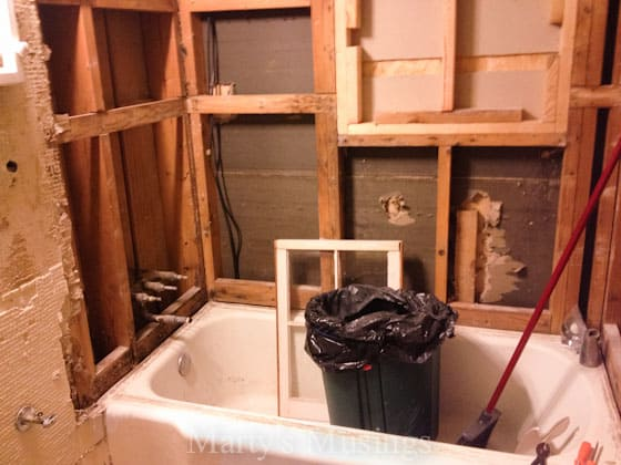 How to Tile Your Shower from Marty's Musings-8