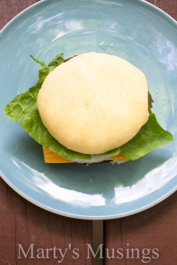 The Best Ever Homemade Hamburger Buns from Marty's Musings