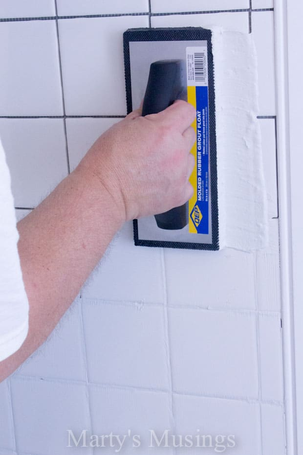 DIY Shower Tutorial from Marty's Musings-10