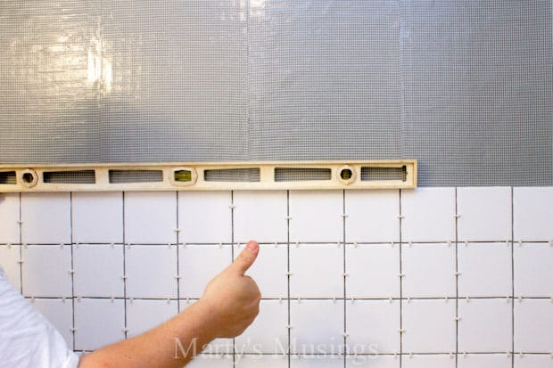 DIY Shower Tutorial from Marty's Musings-3