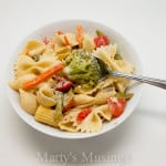 Easy Pasta Salad with 3 Ingredients rom Marty's Musings